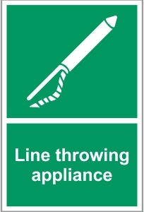 MAR031 - Line throwing appliance