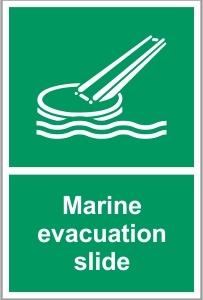 MAR034 - Marine evacuation slide