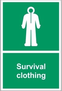 MAR036 - Survival clothing
