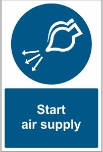 MAR045 - Start air supply