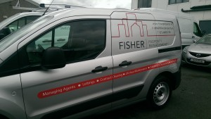Fisher Fleet Van Graphics
