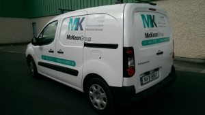 Mckeown Group Van Graphic