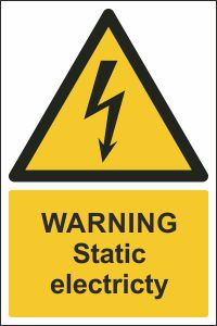 Warning - Static Electricity