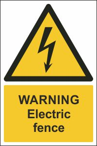 Warning - Electric Fence