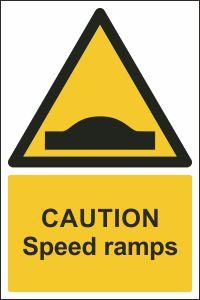 Caution - Speed Ramps