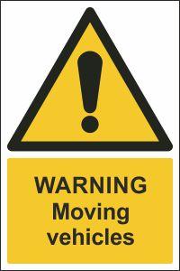 Warning - Moving Vehicles
