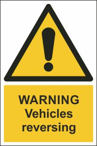 Warning - Vehicles Reversing