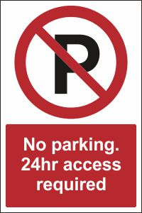 No Parking. 24hr Access Required