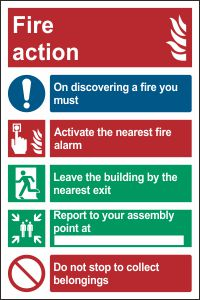 Fire Action A