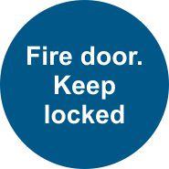 Fire Door. Keep Locked