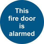 This Fire Door is Alarmed