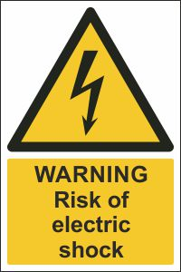 Warning - Risk of Electric Shock