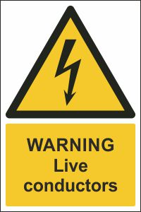 Warning - Live Conductors