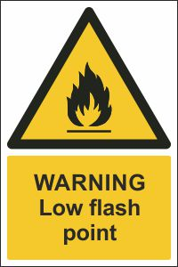 Warning - Low Flash Point