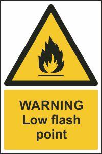 Warning - Low Flash Point