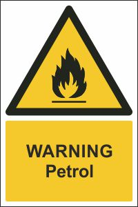 Warning - Petrol