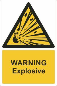 Warning - Explosive