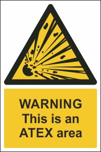 Warning - This is an ATEX Area