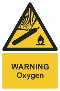 Warning - Oxygen