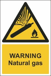 Warning - Natural Gas