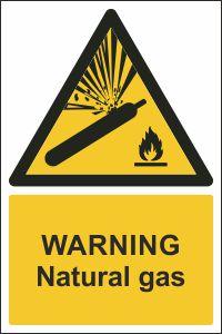 Warning - Natural Gas