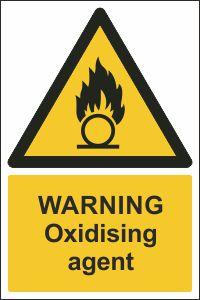 Warning - Oxidising Agent
