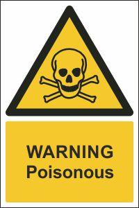 Warning - Poisonous