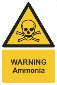 Warning - Ammonia