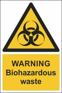 Warning - Biohazardous Waste