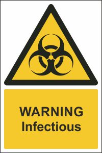 Warning - Infectious