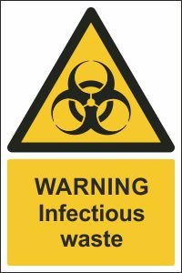 Warning - Infectious Waste