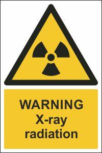 Warning - X-ray Radiation