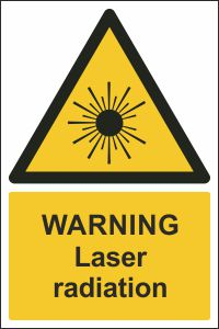 Warning - Laser Radiation