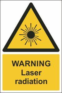 Warning - Laser Radiation