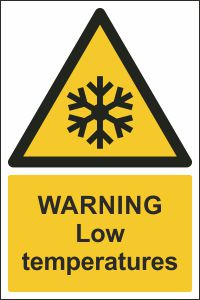 Warning - Low Temperatures