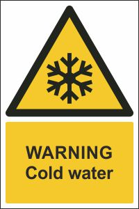 Warning - Cold Water