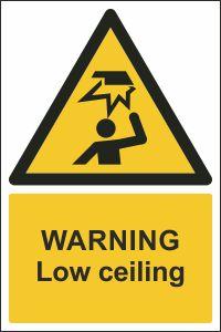 Warning Low Ceiling Sign Buy Online Ireland Amp Uk Css