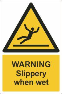 Warning - Slippery When Wet