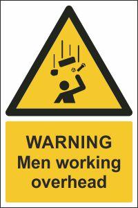 Warning - Men Working Overhead
