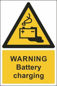 Warning - Battery Charging