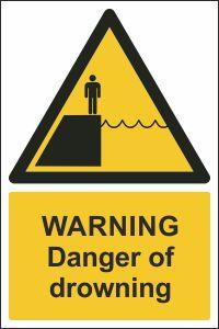 Warning - Danger of Drowning