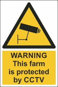 Warning - This Farm is Protected by CCTV
