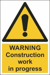 Warning - Construction Work in Progress