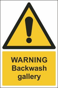 Warning - Backwash Gallery