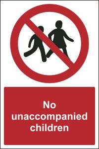 No Unaccompanied Children