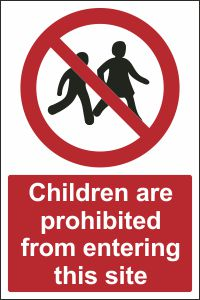 Children are Prohibited from Entering this Site