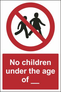 No Children Under the Age of ___