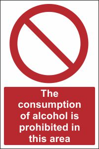 The Consumption of Alcohol is Prohibited
