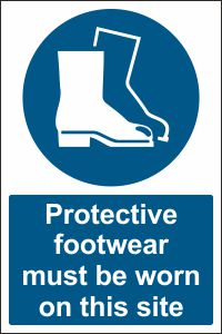 Protective Footwear must be Worn on this Site