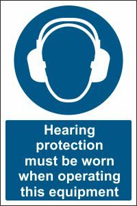 Hearing Protection when Operating this Equipment